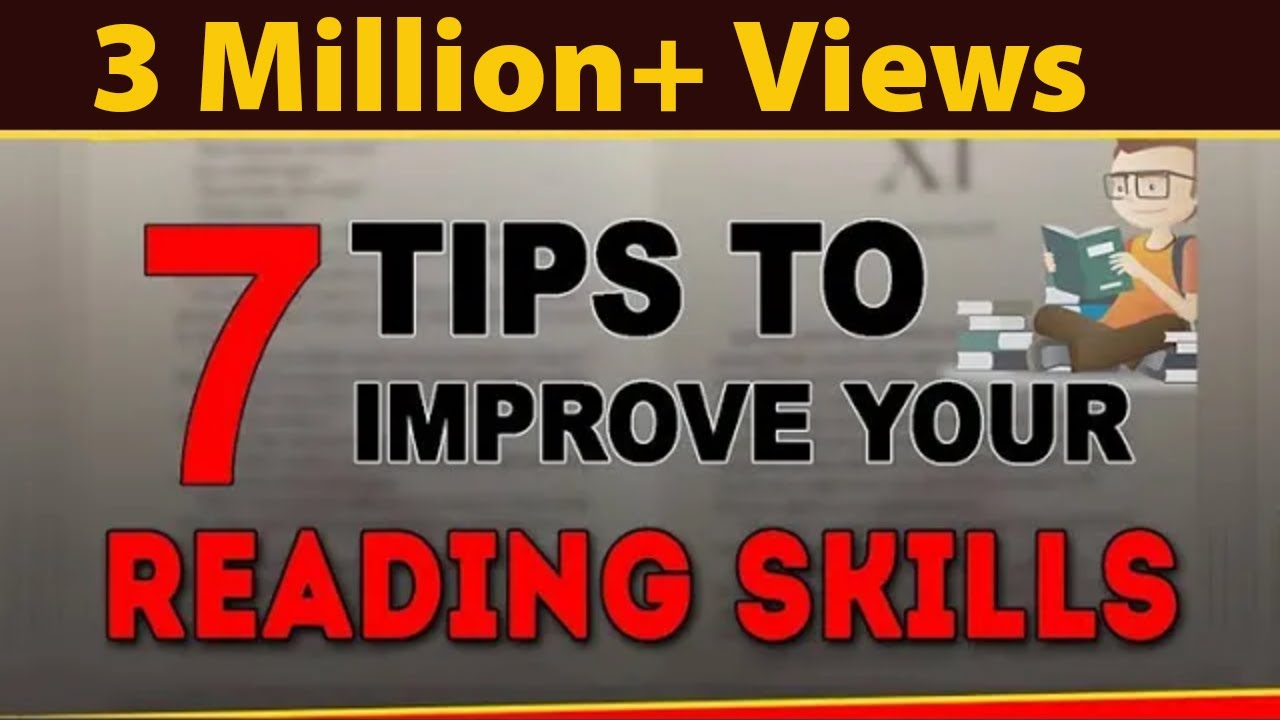 Download How to Improve Reading Skills? | 7 Speed Reading Techniques | Exam Tips | LetsTute