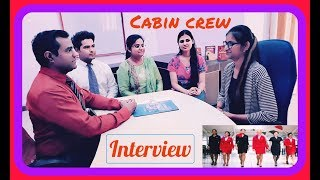 Airlines #Cabin #Crew Interview : Air #hostess job