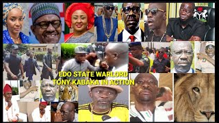 WARLORD TONY KABAKA IS BACK WITH POWER STRUGGLE WAR WITH GOV. GODWIN OBASEKI. THE AUTHORITY TO KILL