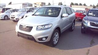 2011 Hyundai Santa Fe. Start Up, Engine, And In Depth Tour.