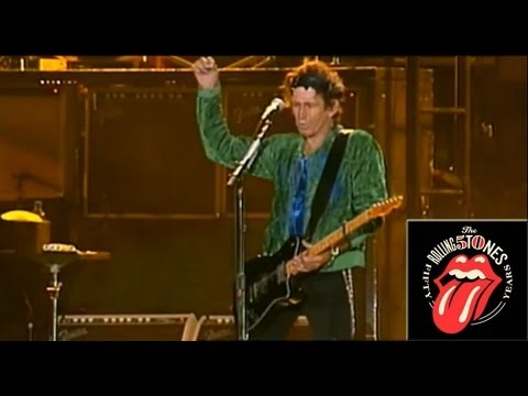The Rolling Stones - Happy (& football chant) - Live OFFICIAL (Chapter 2/5)
