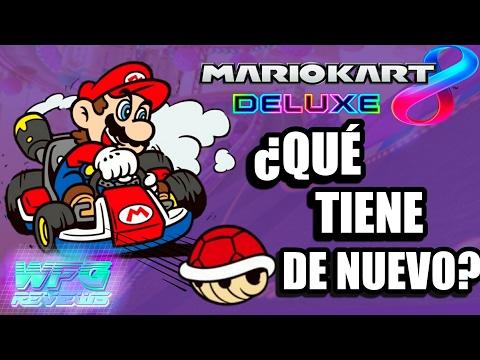 ¿Qué tiene de nuevo Mario Kart 8 Deluxe?   Review