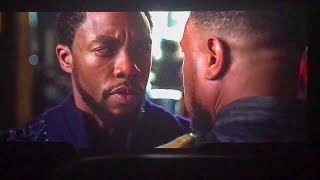 The Black Panther (2018) | T'Challa Meets Killmonger! | HD
