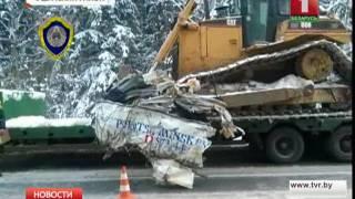 Страшная авария на трассе Полоцк-Минск