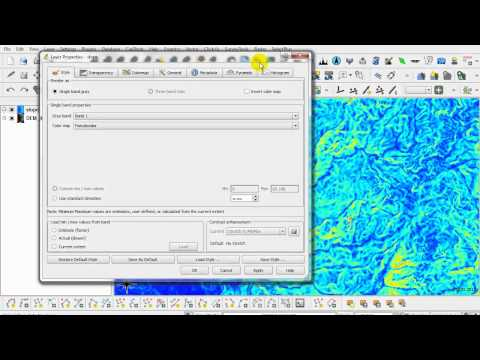 Chapter 9 : Raster Based Terrain Analysis [Plugin QGIS]