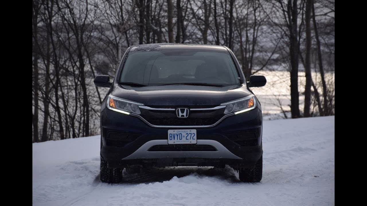 2015 Honda CR-V SE AWD Video Test Drive - YouTube