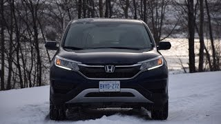 2015 Honda CR-V SE AWD Video Test Drive(Autos.ca video test-drive of the 2015 Honda CR-V, presented by Justin Pritchard., 2014-12-20T15:37:36.000Z)