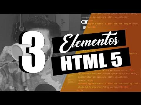 #03 Elementos HTML | Tutorial HTML 5 thumbnail