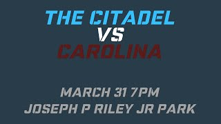 Citadel Baseball: Two Teams | One Night