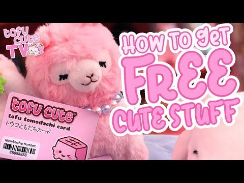 GET FREE STUFF by Joining the Tomodachi Club! | TOFU CUTE TV