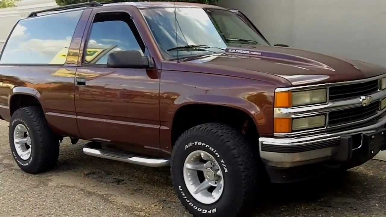 1995 chevy 6.5 turbo diesel review