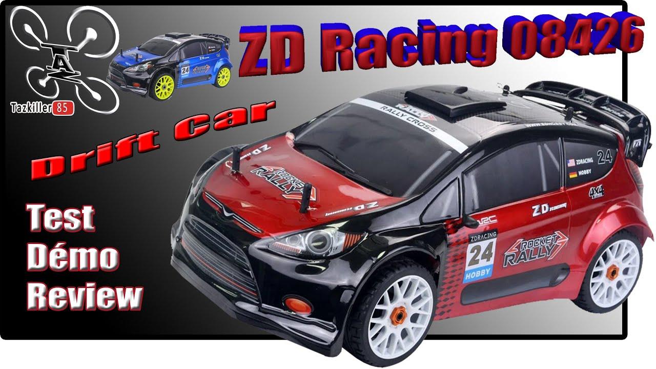 Download ZD Racing 08426 1/8 Drift Car  - Review Test Démo - Une excellente base de départ !