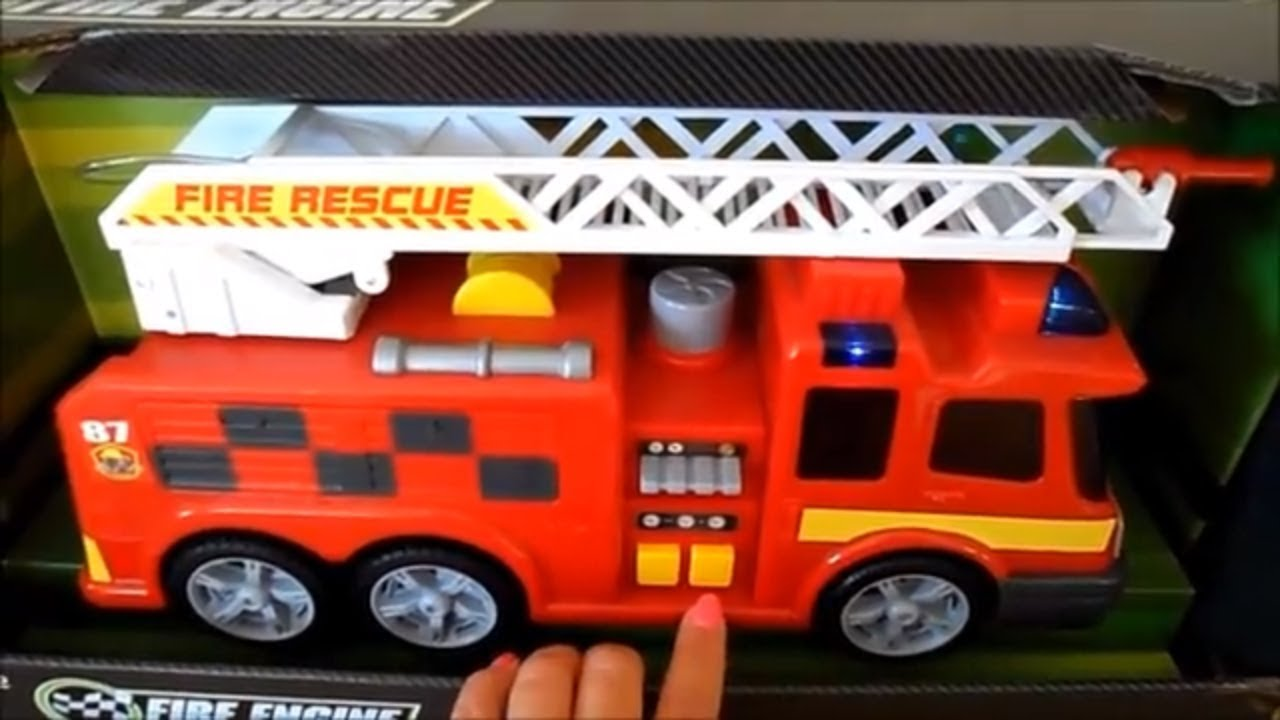 Christmas 2018 TOP 5 FIRE ENGINES 🚒 Fireman Sam JUPITER Tonka