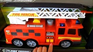 Christmas 2016 TOP 5 FIRE ENGINES Inc., Fireman Sam JUPITER , Tonka, Mickie Mouse & Dickie Toys