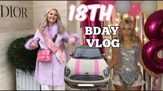 18TH BIRTHDAY VLOG! SURPRISED WITH A CAR, DAY IN LONDON!