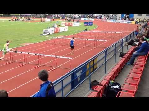 Mala cena Olomouce 2014 - Lukas Martinak 100m hurdles 14,95