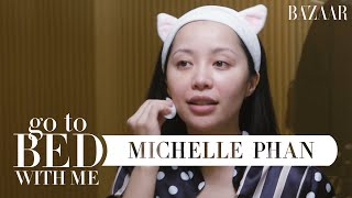 @Michelle Phan's Nighttime Skincare Routine | Go To Bed With Me | Harper's BAZAAR