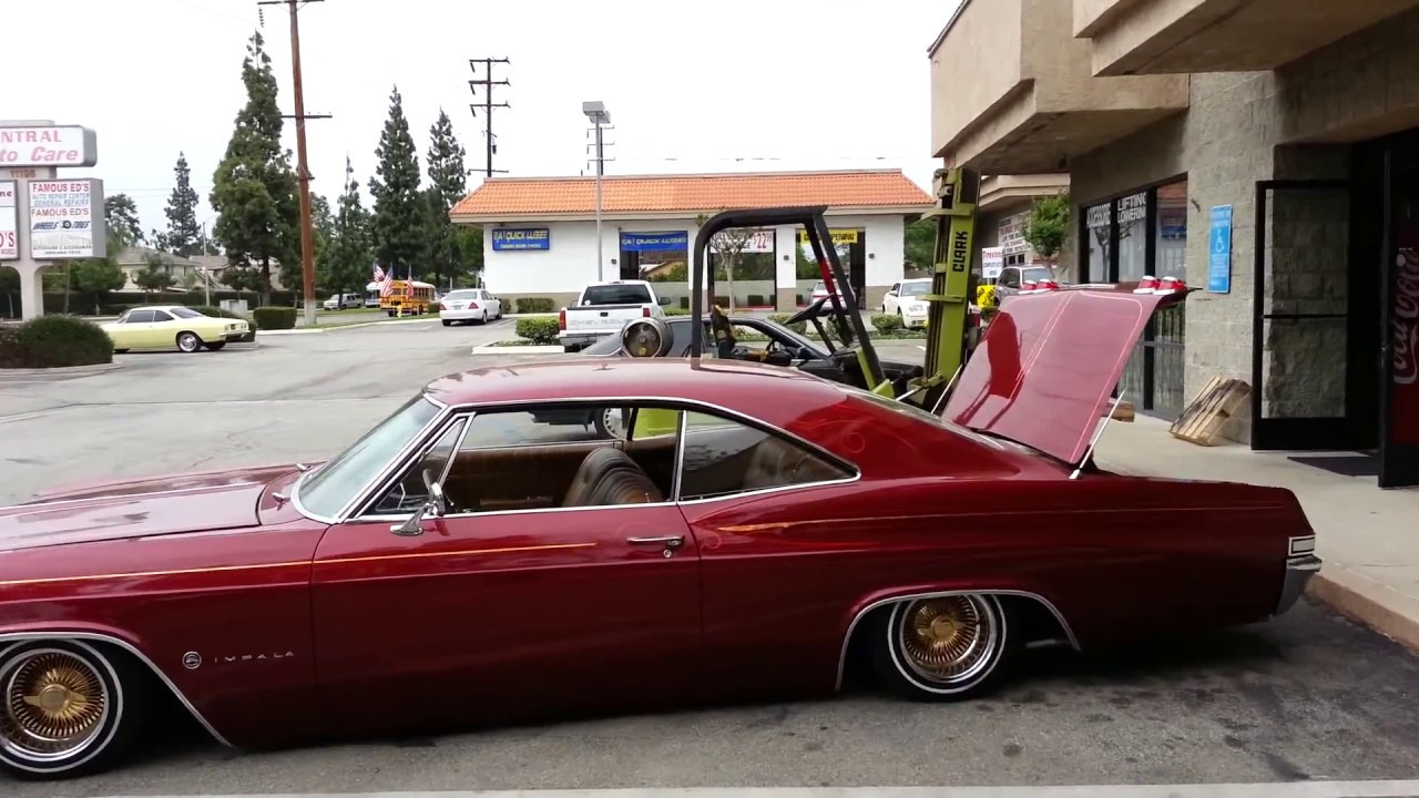 65 impala bagged up by hoppos
