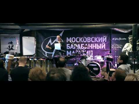 ЛЕВ СЛЕПНЕР - мастер-класс 19.02.17 в Московском Барабанном Магазине МУЗИМПОРТ