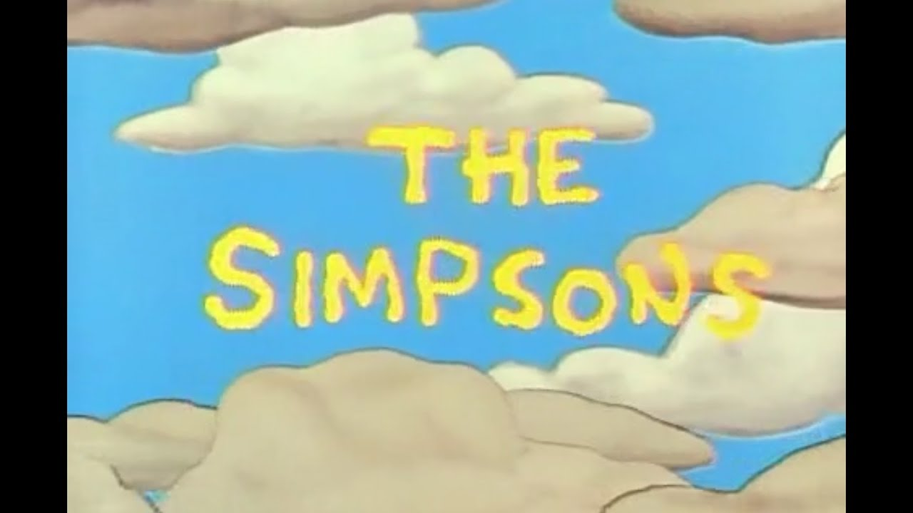 the simpsons season 2 opening and closing credits and theme song