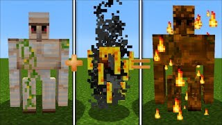 WE COMBINED MOBS IN MINECRAFT !! MC NAVEED AND MARK THE FRIENDLY ZOMBIE SURVIVE !!
