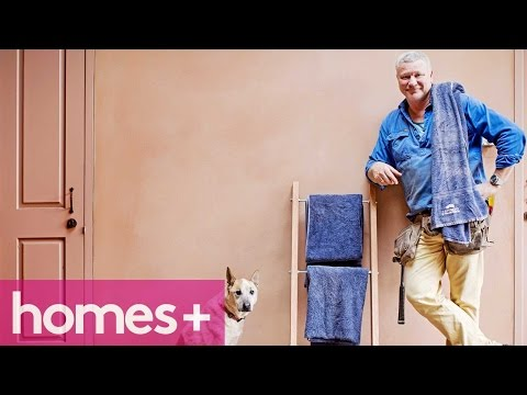 SCOTT CAM DIY: Towel rack - homes+