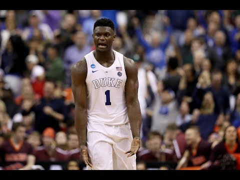 Zion Williamson Dominates Virginia Tech, Leads Duke To Elite Eight