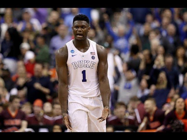 Zion Williamson Dominates Virginia Tech, Leads Duke To Elite Eight