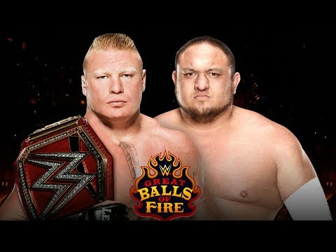 Why Samoa Joe Should Beat Brock Lesnar For WWE Universal Title
