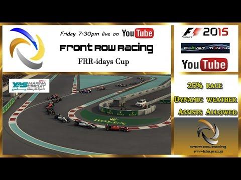 Front Row Racing FRR-idays Cup Abu Dhabi