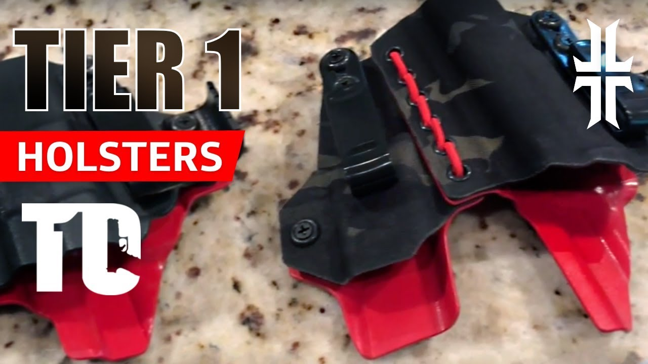 NEW Concealed Carry Holster: TIER 1 AXIS