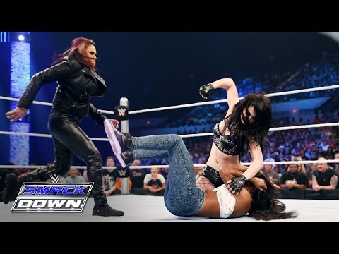 Things get out of hand after Paige and Naomi engage in a war-of-words: Smackdown, May 21, 2015