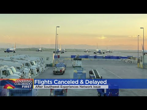 Dozens Of Flights Delayed Or Canceled At DIA After Southwest Airlines Computer Failure