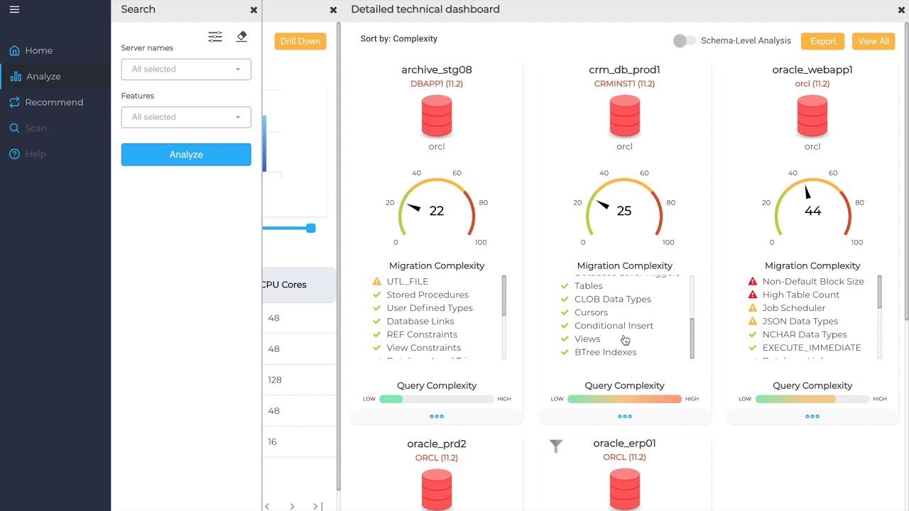 Cloud Database Migration Plan, Best Practices | migVisor
