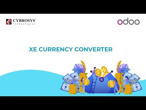 Odoo Xe Currency Exchange Rate Converter