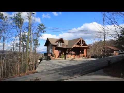 VIDEO OF LUXURY LOG CABIN FOR SALE   GATLINBURG TN   Rental Income  2011    $213,744   YouTube
