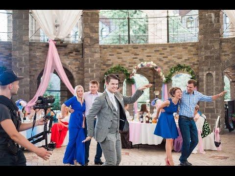 Ведущий Андрей Александров. Свадьба в Колизее 16.07.16 Немчиновка парк видео фото