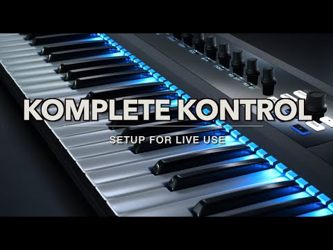 How to Make a Live Setup with KOMPLETE KONTROL