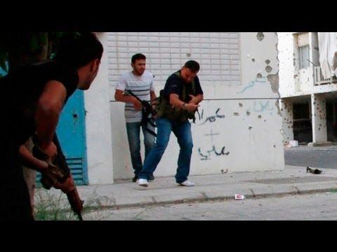 Exército Libanês Nas Ruas De Tripoli Para Conter