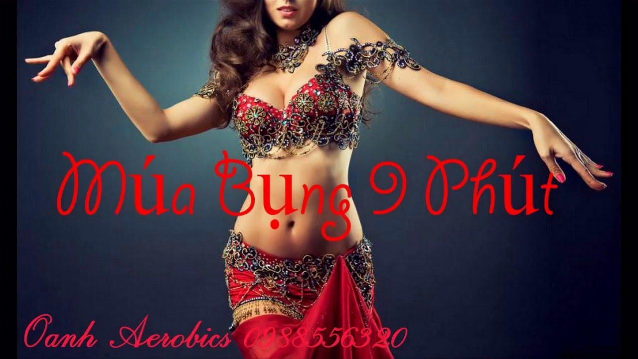 Eo Ngang 01 - Múa Bụng 9 Phút | Oanh Aerobics Thể Dục Thẩm Mỹ LH: 0988556320