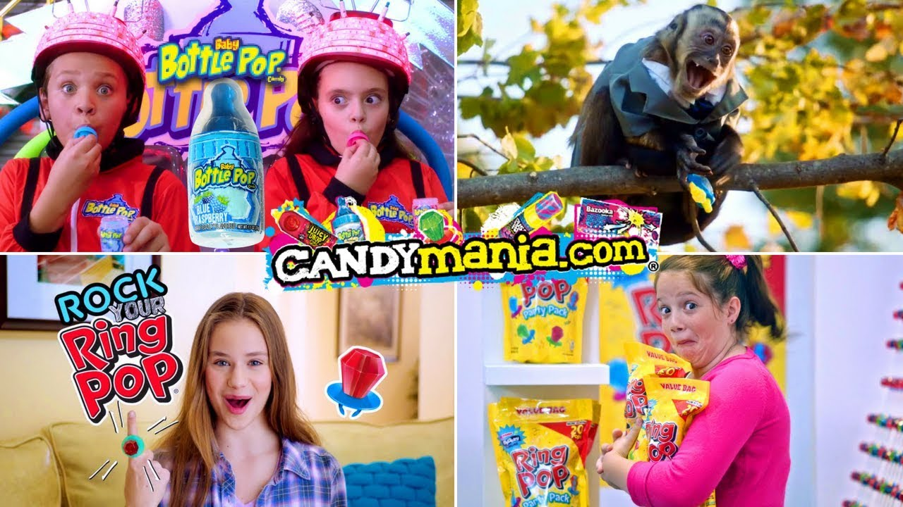 All The Best Ring Pop, Juicy Drop, Push Pop, Baby Bottle Pop Silliest Candy  Ever!