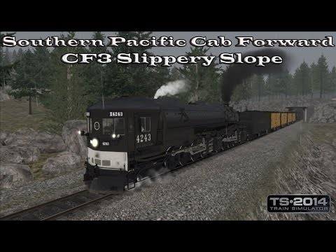 Train Simulator 2014 - Standard Scenario - Southern Pacific Cab Forward - CF3 Slippery Slope Part 2 |