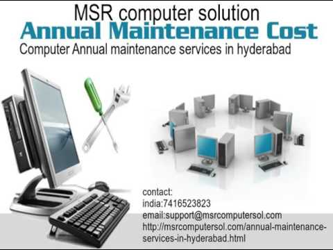 Annual Maintenance Contract Service In Hyderabad