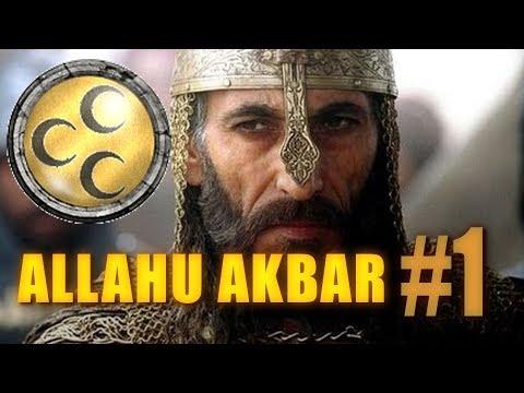 ALLAHU AKBAR - Medieval 2 Crusades - Egypt #1