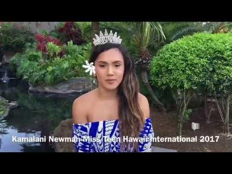 Journey To Miss Teen International: Miss Teen Hawaii International 2017