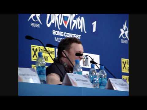 Brinck - Believe Again - from Press conference - Denmark - Eurovision Song Contest 2009