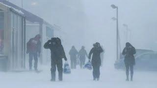 Смертельные морозы надвигаются на Россию. Пятеро уже погибли
