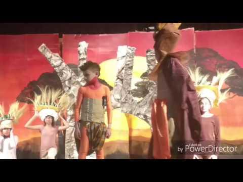Sinae's Lion King school play