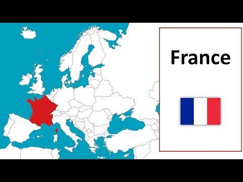 Apprendre Les Pays De L'Europe