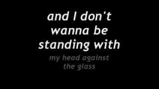 James Arthur Ft. Jamie Graham - Head Against The Glass  Lyrics On Screen